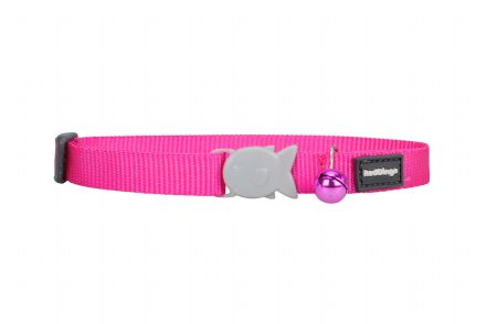 Red Dingo Cat collar Classic Hot Pink